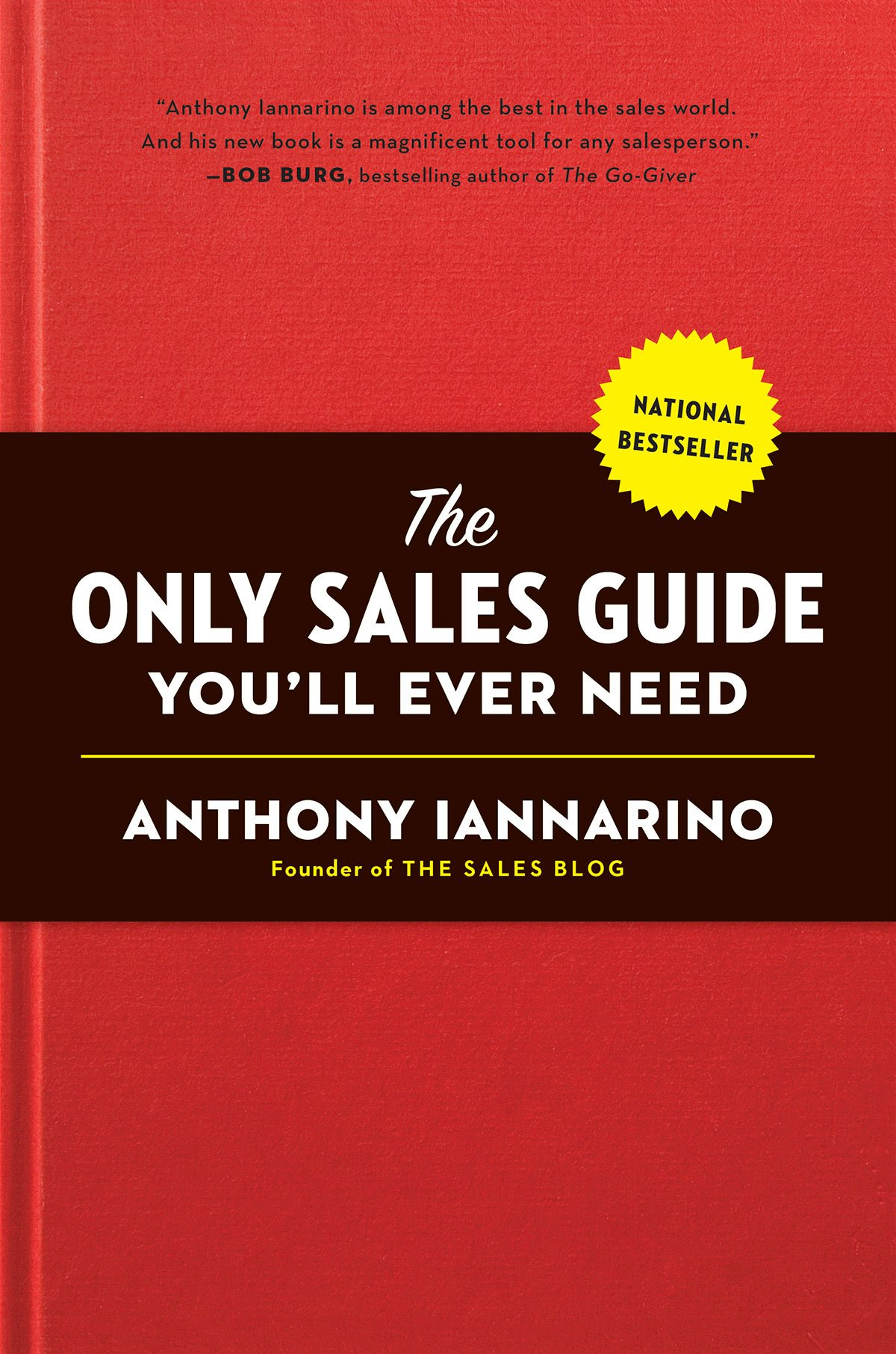 The Only Sales Guide book cover
